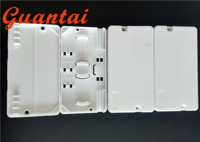 Waterproof FTTH Fiber Optic Protection Box Plastic Material 85mm Length