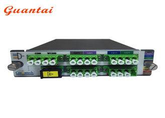 China High Power Multi Ports CWDM Mux Demux Module Optical 2U LGX LC / UPC Module 8 Channel supplier