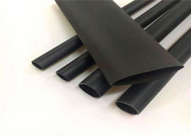 China Soft Adhesive Heat Shrink Electrical Sleeve 600V Rated Voltage Water Absorption <0.5% factory