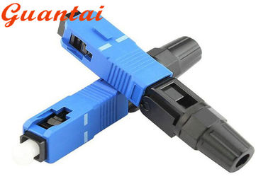 China ST / LC SC Fiber Optic Connector , Fiber Bulkhead Connector Low Insertion Loss factory