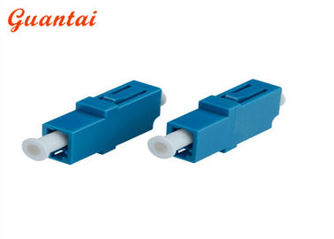 China Simplex Singlemode Plastic Fiber Optic Adapters Free Sample With Shutter factory