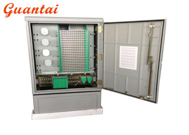 Outdoor Ground Mounted Fiber Optic Distribution Cabinet IP65 Protection Grade