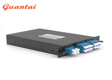 China 8 Channels CWDM Mux Demux Module 1450 - 1610nm Dual Fiber LGX Module Multiplexer factory