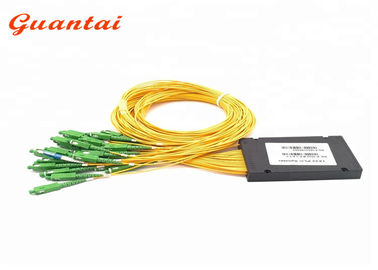 ABS Box Type Fiber Optic PLC Splitter ABS Material Eco Friendly For Telecom