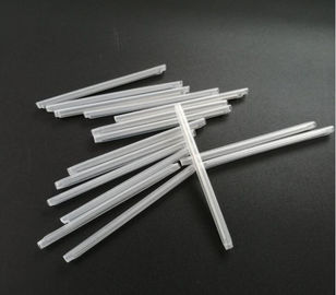 China Clear Color Optical Fiber Heat Shrink Sleeves 60mm Length With Stainless Steel Wire factory